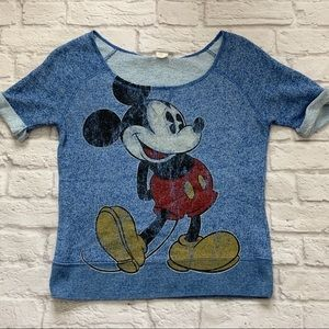 Disney Parks Women's Classic Mickey Mouse Blouse